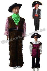 Изображение для категории Костюмы Пираты Ковбои рост 104, 110