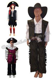 Зображення для категорії Костюми Пірати Ковбої зріст 122