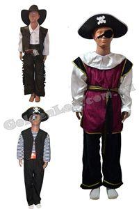 Зображення для категорії Костюми Пірати Ковбої зріст 134