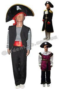 Зображення для категорії Костюми Пірати Ковбої зріст 140
