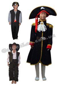 Зображення для категорії Костюми Пірати, Ковбої зріст 146