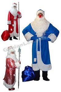 Зображення для категорії Костюми Діда Мороза