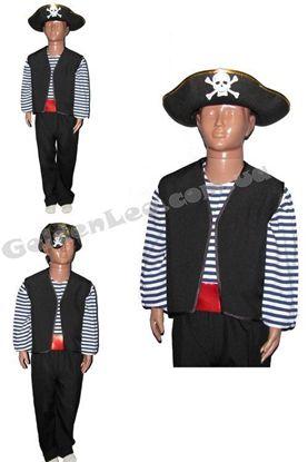 Детский костюм Пирата рост 116