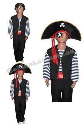 Пиратский костюм для ребенка рост 134