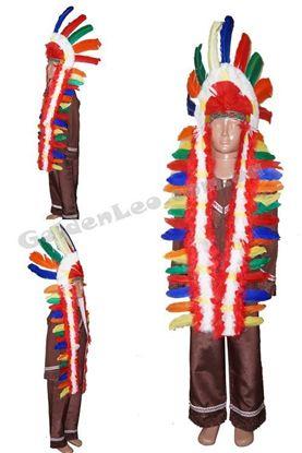 Костюм Вождя индейцев рост 116
