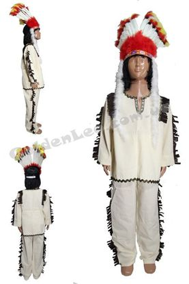 Индейский костюм рост 134