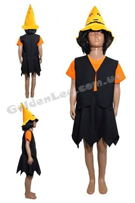 Костюм для Хеллоуина Ведьма Тыква рост 152