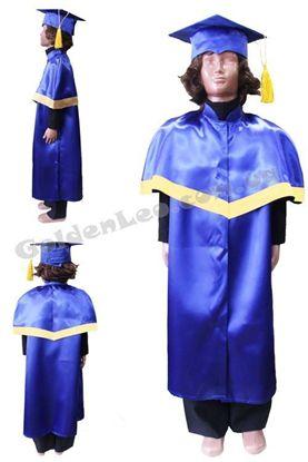 Академическая мантия для ребенка рост 134
