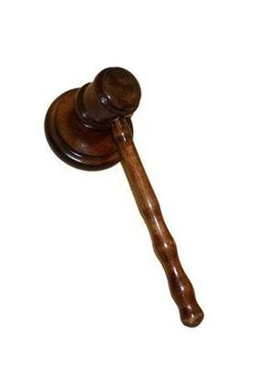 Изображение Молоток судьи