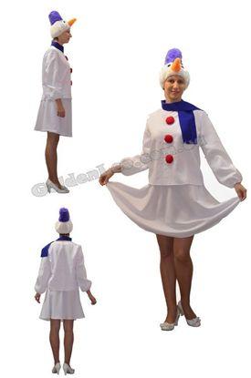 Изображение Прокат костюма Снеговик для девушки