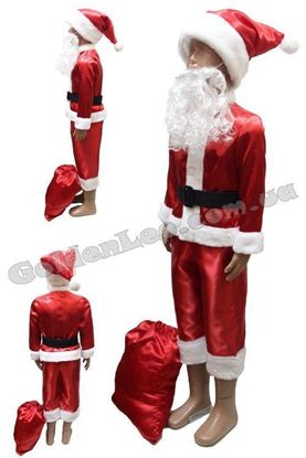 Костюм Санта Клауса детский