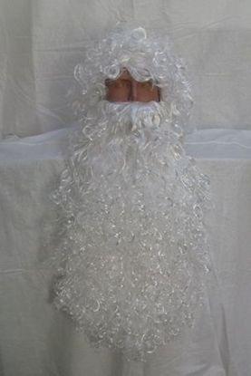 Большая борода Деда Мороза 85 см