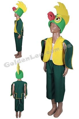 костюм папуги