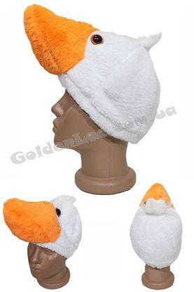 карнавальна шапка гуся