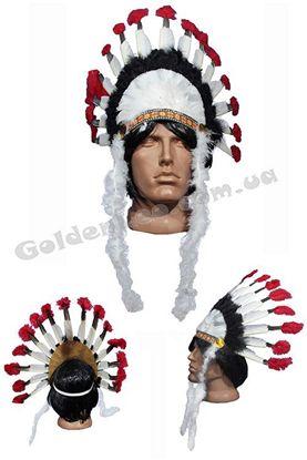 Парик индейца