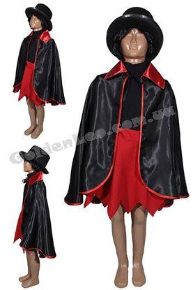 костюм вампір для дівчинки