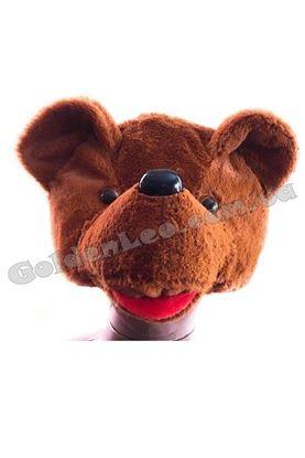 карнавальна маска ведмідь