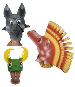 Зображення для категорії Маски, шапки з поролону