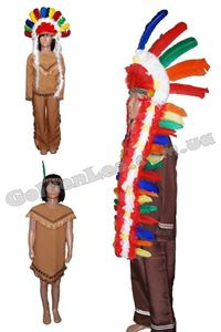 Зображення для категорії Костюми індіанців зріст 152, 10-14 років