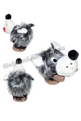 Карнавальная шапка Волка