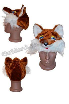 карнавальная шапка Лисички