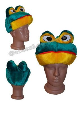 карнавальна маска Жаба