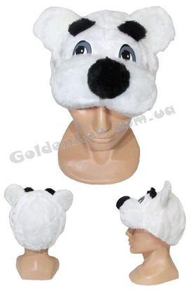 карнавальна шапка медвежа