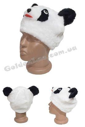 карнавальная шапка Панды