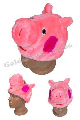 карнавальная маска Свинки Пеппы