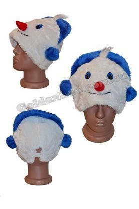 карнавальная маска Снеговик