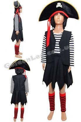Піратський костюм для дівчинки