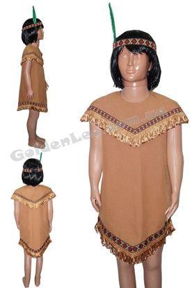 Костюм индейца для девочки рост 104, 110