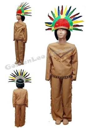 Индейский костюм для мальчика рост 140
