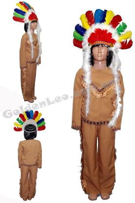 Костюм Индейского вождя рост 140