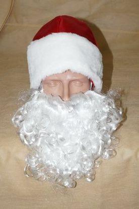 Борода Деда Мороза детская
