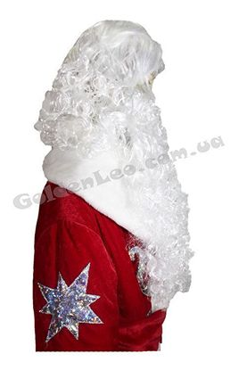 борода Деда Мороза с париком