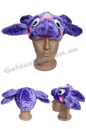 Карнавальная маска Лунтика