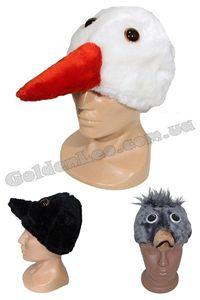 Зображення для категорії Карнавальні маски птахів, жуків та комах
