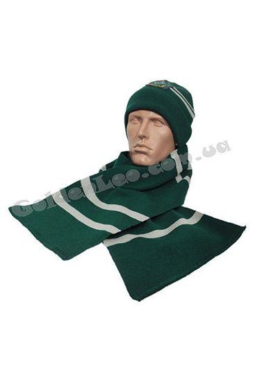 Шапка и шарф Слизерин купить