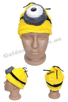 Карнавальная маска Миньон 1 глаз