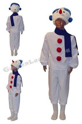 костюм снеговик прокат