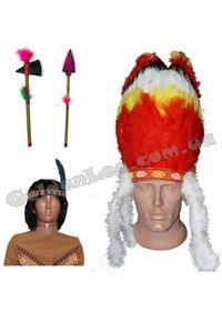 Зображення для категорії Перуки Індіанців, аксесуари Індіанців