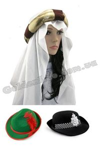 Зображення для категорії Карнавальні шапки і капелюхи