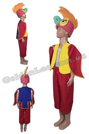 костюм попугай