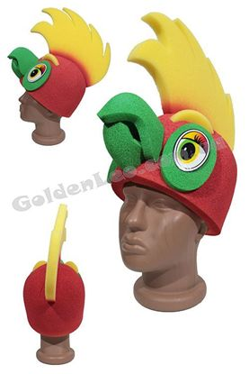 маска папуги