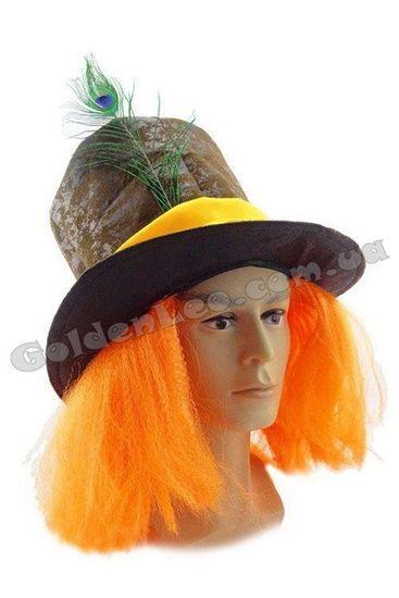 Шляпа Безумный Шляпник с париком