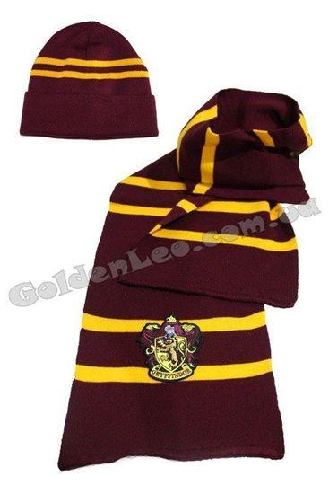 Набор шапка и шарф  Гарри Поттера