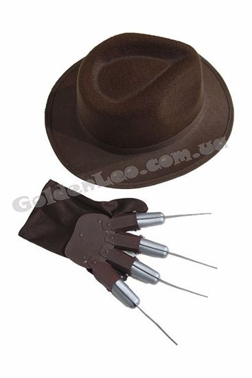 Шляпа и перчатка Фредди Крюгера