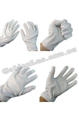 Перчатки Фокусника белые