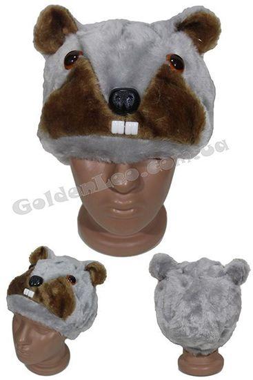 карнавальная маска бобр